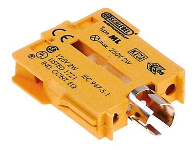 στοιχείο υποδοχής κίτρινο υποδοχή Ba9s