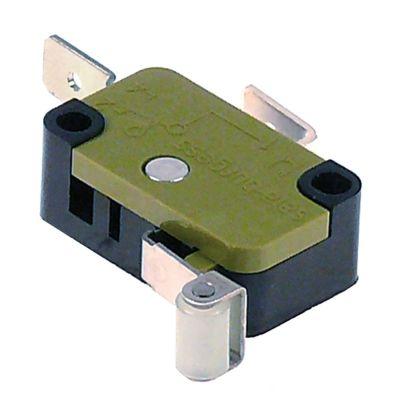 μικροδιακόπτης με λαβή με διακόπτη 250V 10A 1NO  σύνδεσμος αρσενικό εξάρτημα 6,3mm Μ 28mm
