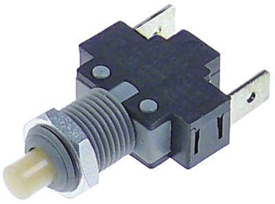 κουμπί πίεσης 1NO  250V 16A σύνδεσμος αρσενικό εξάρτημα 6,3mm