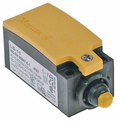 μικροδιακόπτης πλαστικό 1NO/1NC  230V 3A Μ 75mm W 31mm H 33mm προστασία IP66