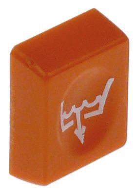 κουμπί πίεσης Μ 25mm W 19,5mm πορτοκαλί αντλία αποστράγγισης
