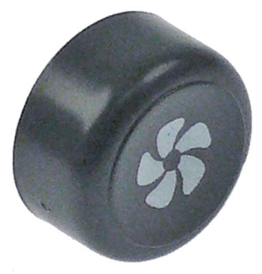 κουμπί πίεσης ø 23mm γκρι κύκλος