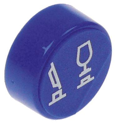 κουμπί πίεσης ø 23mm μπλε πρόγραμμα  -