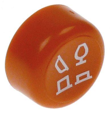 κουμπί πίεσης ø 23mm πορτοκαλί πρόγραμμα