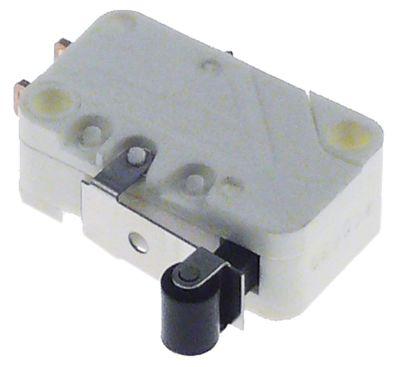 μικροδιακόπτης με λαβή με διακόπτη 250V 16A 1CO  σύνδεσμος αρσενικό εξάρτημα