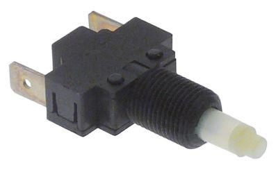 στιγμιαίος διακόπτης λειτουργία με πείρο 250V 16A 1NO  σύνδεσμος αρσενικό εξάρτημα 6,3mm