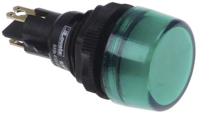 ενδεικτική λυχνία διαστ. τοποθέτ. ø22mm  πράσινο LED