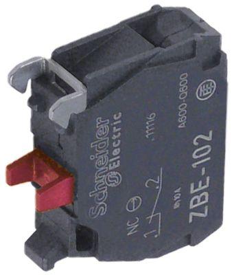 μπλοκ διακόπτη EFA  ZBE-102 1NC  μέγ. 230V 10(6) A μαύρο