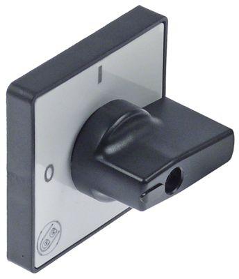 κομβίο με δακτύλιο GIOVENZANA  ømm διάμετρος άξοναmm για περιστροφικό διακόπτη