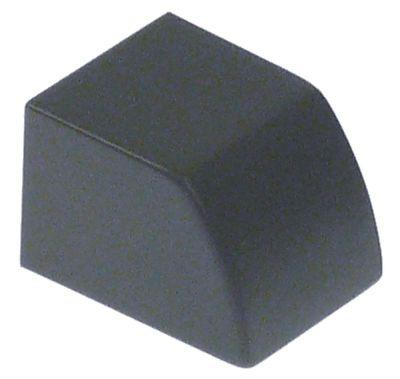 κουμπί πίεσης γκρι Μ 24,2mm W 19,2mm H 16,4mm