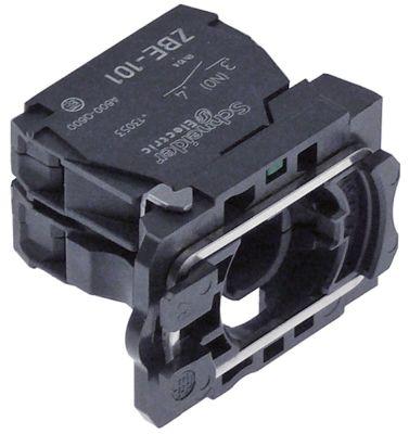 μπλοκ διακόπτη SCHNEIDER ELECTRIC  1NO/ενδεικτική λυχνία 240V 3A φωτιζόμενο