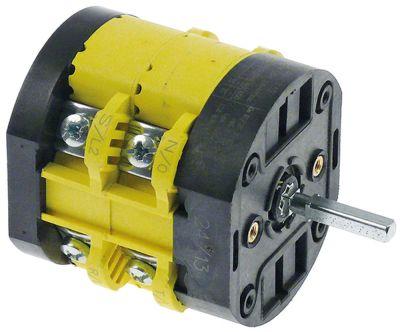 περιστροφικός διακόπτη 2 0-1  600V 32A σετ επαφών 4 ø άξονα 5x5 mm Μ άξονα 26mm