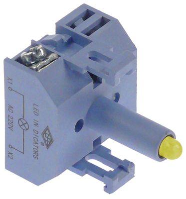 ενδεικτικό στοιχείο 230VAC  κίτρινο LED  σύνδεσμος βίδα 230V τάση AC