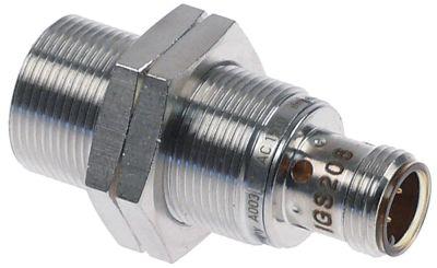 διακόπτης προσέγγισης επαγωγή 0,1A ø 18mm ø D2 12mm Μ 45mm 10-30VDC  τύπος IGS 206