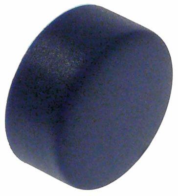 κουμπί πίεσης για πλυντήριο πιάτων άξονας 3,7x3,7 mm μπλε ΕΞ. ø 21mm ø αναγν. 19mm