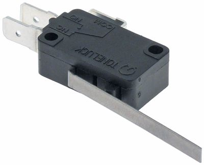 μικροδιακόπτης με μοχλό λειτουργία με μοχλό 125/250 V 16A σύνδεσμος F6,3  Μ 48mm
