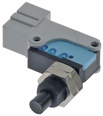 microswitch   250/400V 16/10A 1CO thread M12x0.75 connection male faston 6.3mm thread L 16mm