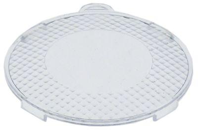 κάλυμμα για λαμπτήρα πλαστικό ø 62mm διαφανές Ποσ. 1 τεμ.