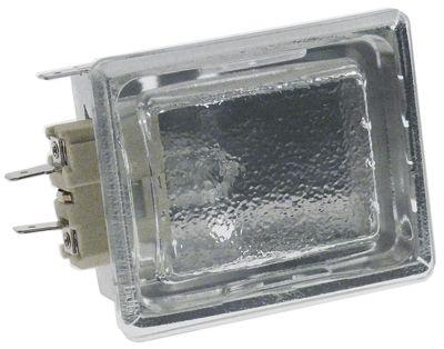 λάμπα φούρνου πλήρες μετρήσεις στερέωσης 55x70 mm 230V 25W υποδοχή G9