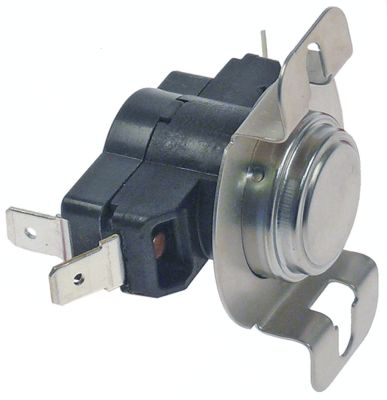 bi-metal thermostat hole distance 48mm switch-off temp. 130°C 1CO 1-pole 16A