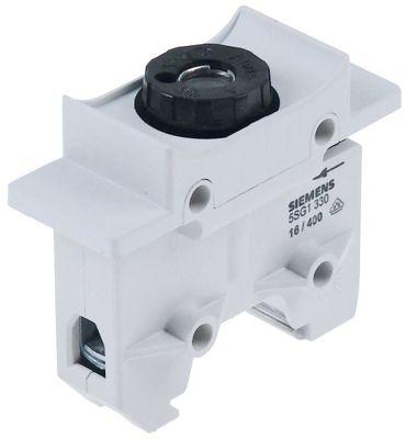 υποδοχή ασφάλειας κατάλληλη ασφάλεια D01  16A ονομαστική τιμή 400V για τοποθέτηση ράγας DIN