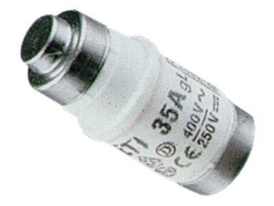 ασφάλεια μέγεθος D02  20A ονομαστική τιμή 250/400 V E18  ø 15mm Μ 36mm