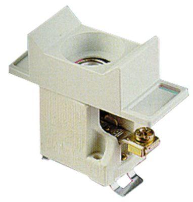 υποδοχή ασφάλειας κατάλληλη ασφάλεια D01  1 πόλου-πόλοι 16A ονομαστική τιμή 400V