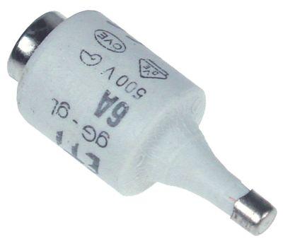 ασφάλεια μέγεθος DII  6A ονομαστική τιμή 500V E27  ø 22mm Μ 50mm Ποσ. 5 τεμ.