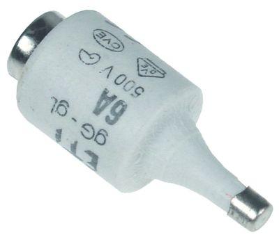 ασφάλεια μέγεθος DII  10A ονομαστική τιμή 500V E27  ø 22mm Μ 50mm Ποσ. 5 τεμ.