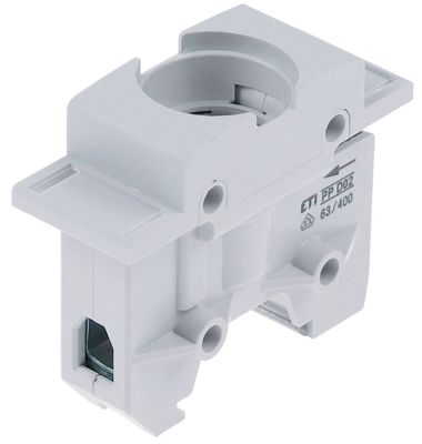 υποδοχή ασφάλειας κατάλληλη ασφάλεια D02  1-πόλοι 63A ονομαστική τιμή 400V