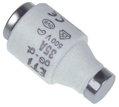 ασφάλεια μέγεθος DIII  63A ονομαστική τιμή 500V E33  ø 27mm Μ 50mm Ποσ. 5 τεμ.