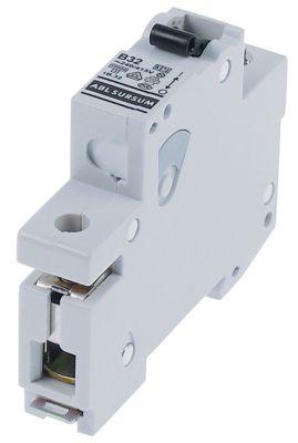 διακόπτης προστασίας αγωγών 1 πόλου 32A τύπος ενεργοποίησης B  ονομαστική τιμή 240/415 V