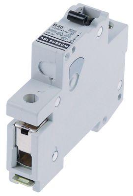 διακόπτης προστασίας αγωγών 1 πόλου 40A τύπος ενεργοποίησης B  ονομαστική τιμή 240/415 V