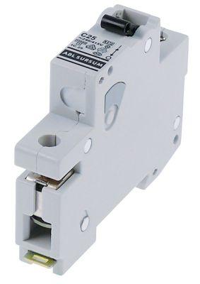 διακόπτης προστασίας αγωγών 1 πόλου 25A τύπος ενεργοποίησης C  ονομαστική τιμή 240/415 V