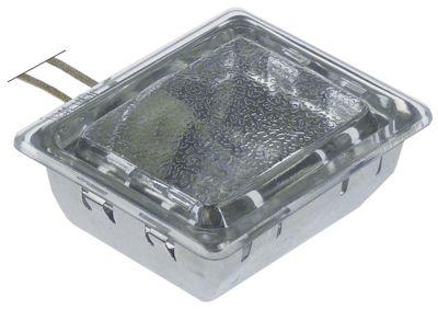 λάμπα φούρνου 230V 25W υποδοχή G9  Μ 70mm W 55mm σύνδεσμος καλώδιο 300mm με λαμπτήρα