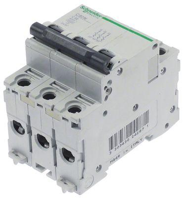 διακόπτης προστασίας αγωγών SCHNEIDER ELECTRIC  3 πόλων τύπος ενεργοποίησης C  32A
