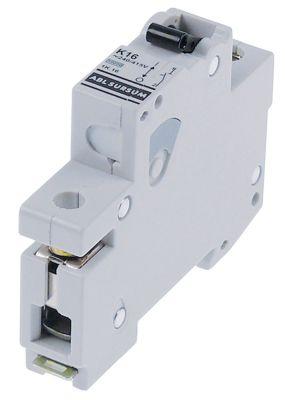 διακόπτης προστασίας αγωγών 1 πόλου 16A τύπος ενεργοποίησης K  ονομαστική τιμή 240/415 V