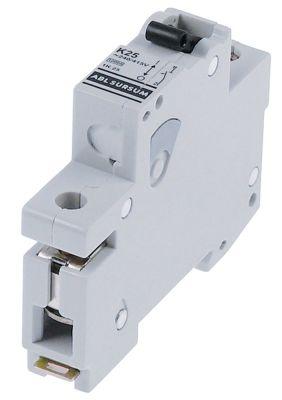 διακόπτης προστασίας αγωγών 1 πόλου 25A τύπος ενεργοποίησης K  ονομαστική τιμή 240/415 V