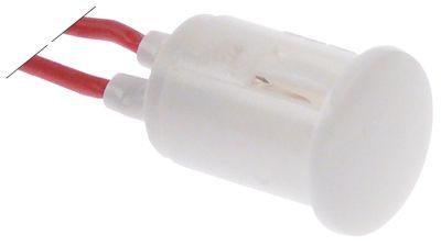 ενδεικτική λυχνία λευκό 400V μήκος καλωδίου 200mm ø 16mm υλικό καλωδίου σύρμα σιλικόνης