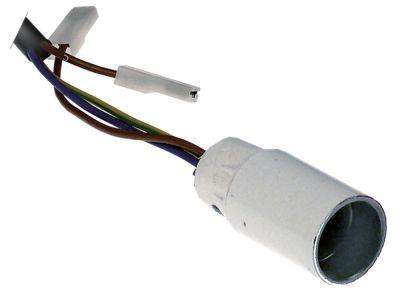 υποδοχή λάμπας υποδοχή E14  μήκος καλωδίου 2000mm