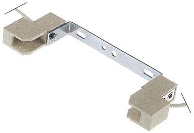 υποδοχή λάμπας υποδοχή R7s  250V ø  -mm για μήκος λαμπτήρα 117,6mm H 47mm