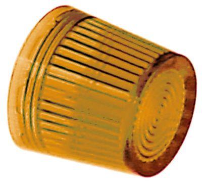 καπάκι ενδεικτικής λυχνίας κίτρινο