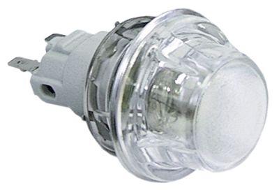λάμπα φούρνου ø διάταξης στερέωσης 47.8mm 230V 25W υποδοχή E14  ανθεκτ. στη θερμ. 300°C