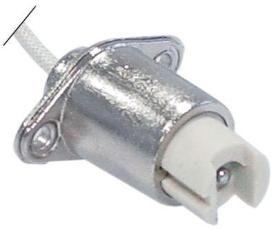 υποδοχή λάμπας υποδοχή 359 R7s  250V ø 22mm H 45mm σύνδεσμος καλώδιο 300mm απόσταση στερέωσης 30mm