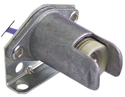 υποδοχή λάμπας υποδοχή R7s  ø 18mm Μ  -mm H 32mm σύνδεσμος καλώδιο 200mm απόσταση στερέωσης 27mm
