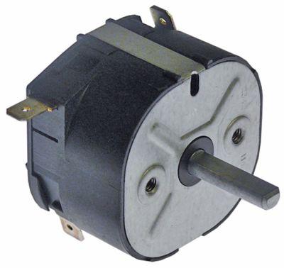 χρονόμετρο M2  2-πόλοι χρόνος λειτουργίας 4min  2NO  στα 250V 16A μόνιμη θέση αρ. ø άξονα 6x4,6 mm