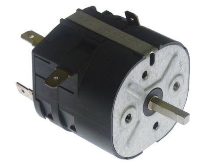 χρονόμετρο M2  3-πόλοι χρόνος λειτουργίας 5min  ώση μηχανικό 3NO  στα 250V 16A μόνιμη θέση αρ.