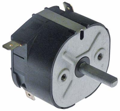 χρονόμετρο M2  2-πόλοι χρόνος λειτουργίας 120min  ώση μηχανικό 2NO  στα 250V 16A μόνιμη θέση αρ.