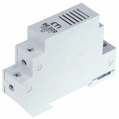 συσκευή συναγερμού ράγα DIN 230VAC