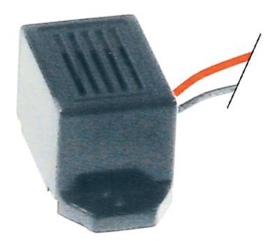 συσκευή συναγερμού έκδοση για τοποθέτηση σε τοίχο H 14,5mm 9-15VDC  προστασία IPx0  75dB